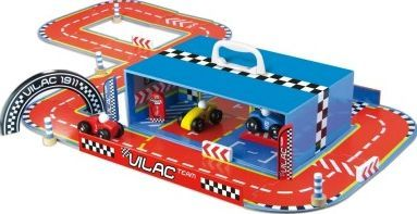 Vilac Race track in suitcase `One size Details : Many accessories and rails provided, delivered in the shape of a case Age : From 3 years old Fabrics : Wood Color : Multicoloured 30 cm x 10 cm x 20 cm http://www.comparestoreprices.co.uk/january-2017-7/vilac-race-track-in-suitcase-one-size.asp