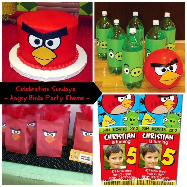 102 best Austins Angry Bird Party images on Pinterest Bird
