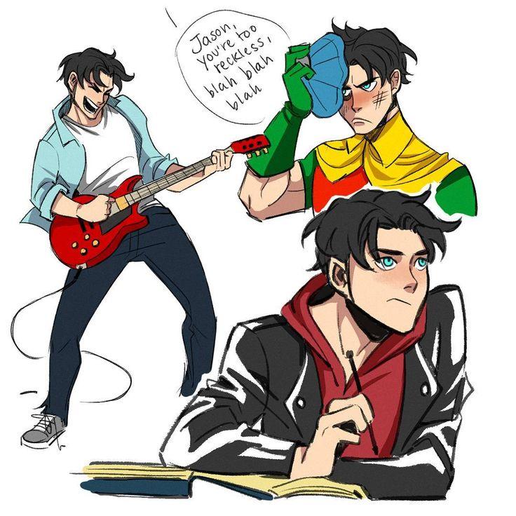 Teenage Jason Todd. Robin.