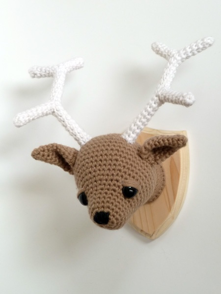 Crochet Amigurumi Head : MADE BY MAIKE - deer head *inspiration Crochet ...