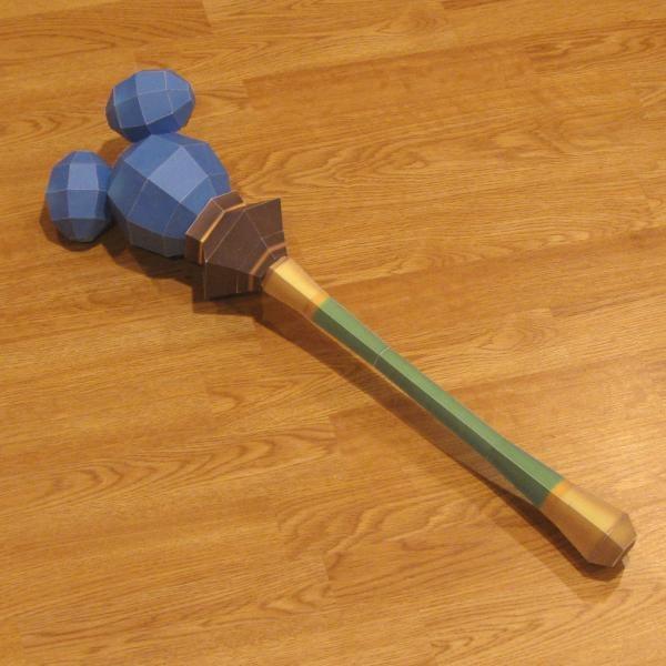 Kingdom Hearts Papercraft: Dream Rod