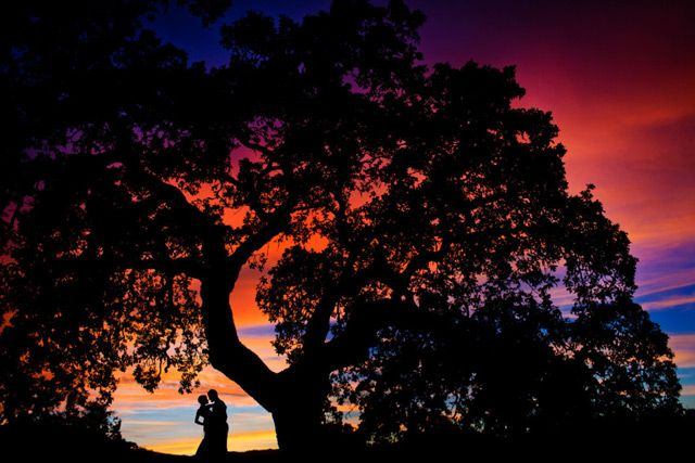 12 Exceptional Silhouette Photos of the Bride and Groom - Mon Cheri Bridals