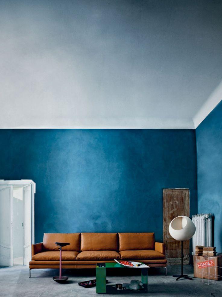 blue & cognac