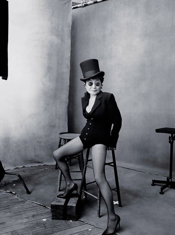 Next year's Pirelli calendar features photographs of notable women by Annie Leibovitz. October, Yoko Ono
