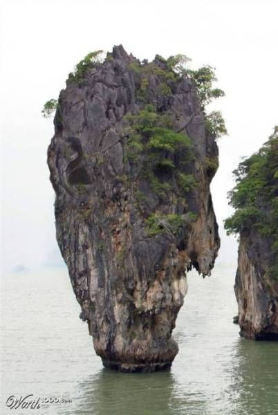 Strange Pictures Formed Naturally