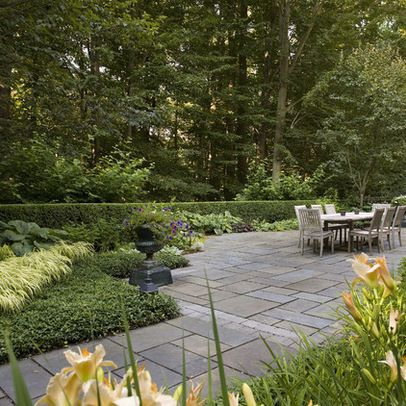 Traditional Landscape patio Design