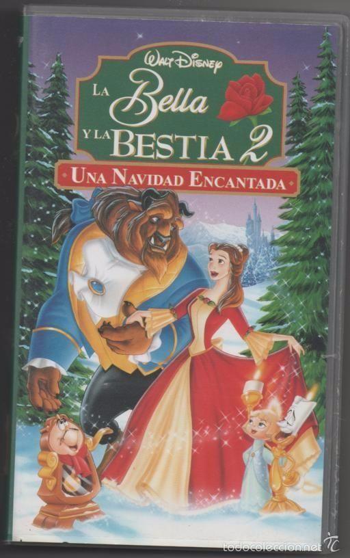 PELÍCULA VÍDEO VHS LA BELLA Y LA BESTIA 2, S.A. WALT DISNEY (CINE INFANTIL-DIBUJOS ANIMADOS)