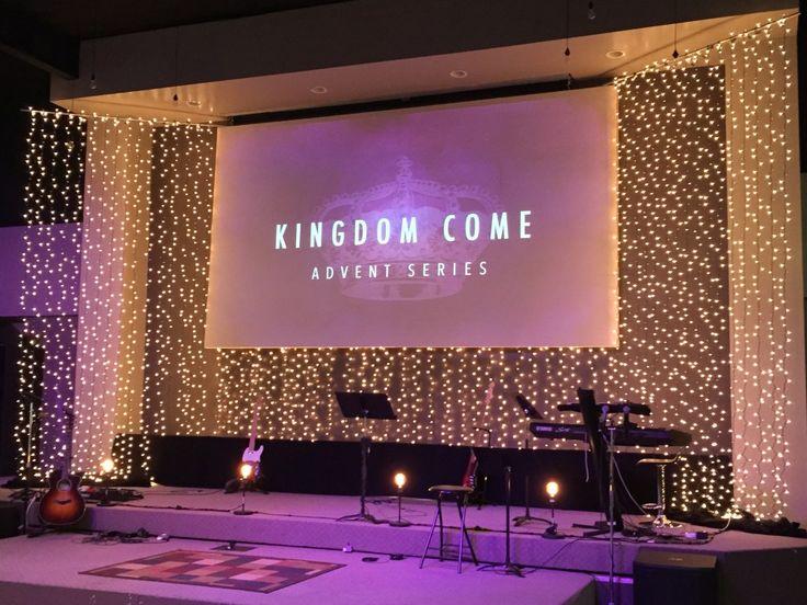Littered w/Light from New Community Christian Church in Salina, Kansas| Church Stage Design Ideas