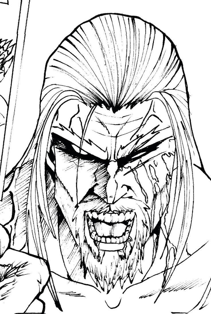 """Villano principal del cómic """"Guardián de Almas"""""""