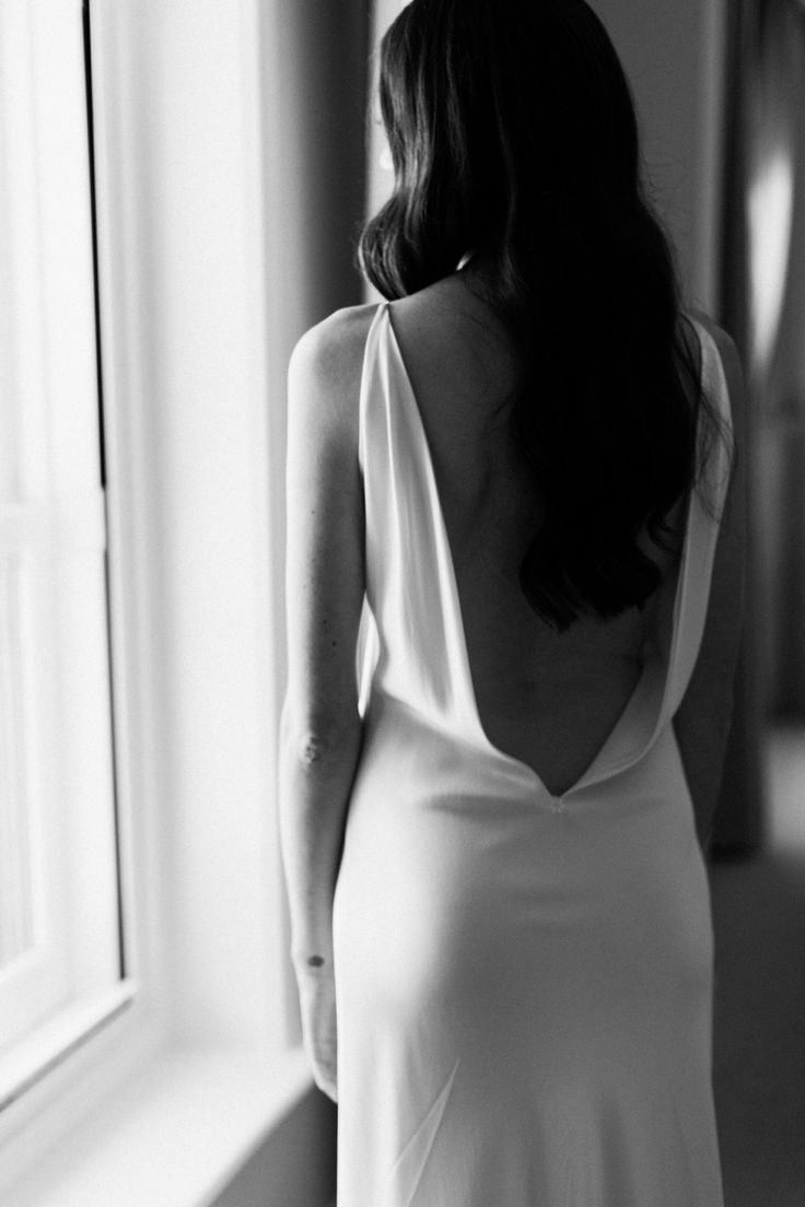 REAL WEDDING / Refined Minimalism in Perth / Photography by Teneil Kable / A La Robe Backless Bridal Gown from Spina Bride / Linton and Kay / The Flour Factory / Wedding Style Inspiration / The LANE