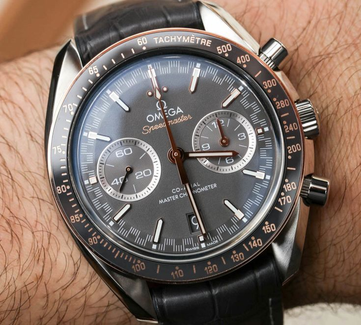Omega Speedmaster Racing Co-Axial Master Chronometer Watches Hands-On