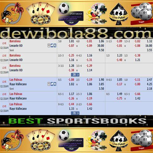 Dewibola88.com   SPAIN LA LIGA  Gmail        :  ag.dewibet@gmail.com YM           :  ag.dewibet@yahoo.com Line         :  dewibola88 BB           :  2B261360 Path         :  dewibola88 Wechat       :  dewi_bet Instagram    :  dewibola88 Pinterest    :  dewibola88 Twitter      :  dewibola88 WhatsApp     :  dewibola88 Google+      :  DEWIBET BBM Channel  :  C002DE376 Flickr       :  felicia.lim Tumblr       :  felicia.lim Facebook     :  dewibola88