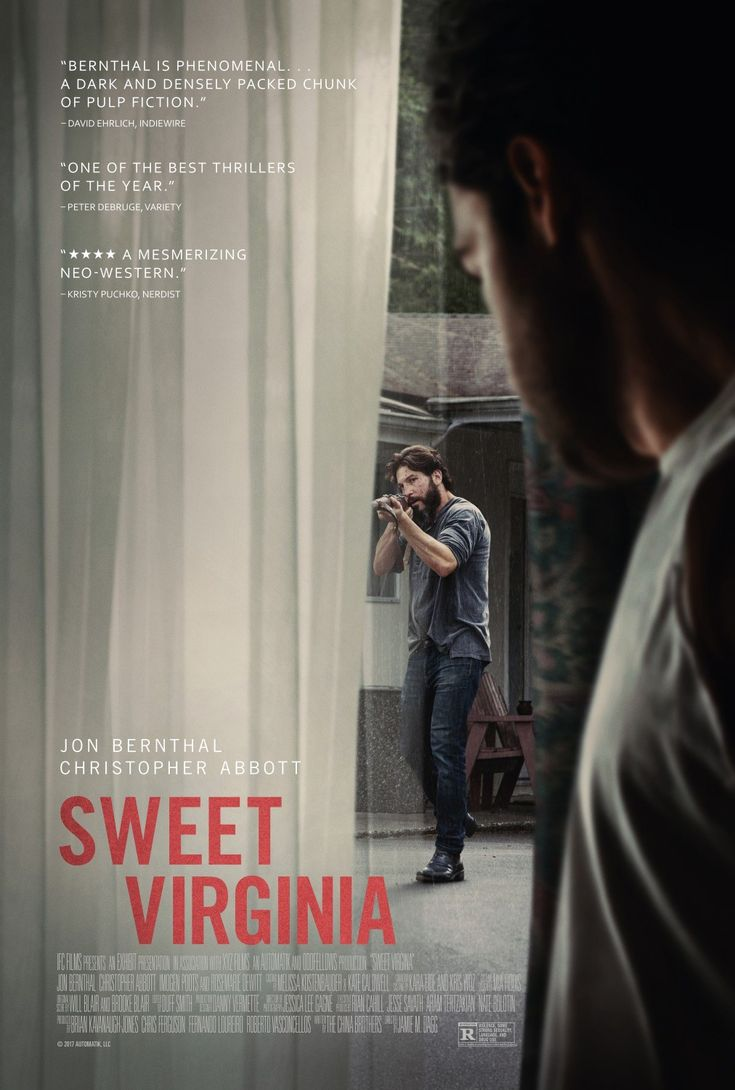 Sweet Virginia (MA15+) Available 28 March – Outdoor from 28 June 2018 Sweet  Virginia Banner Drama/Thriller, Rated MA, 93 Minutes.
