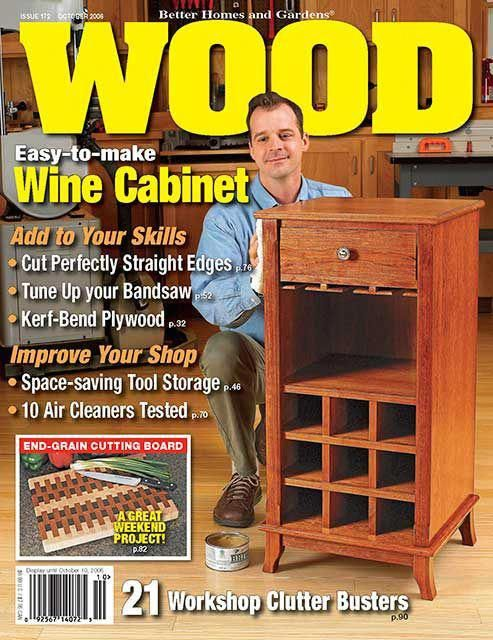 WOOD, Ausgabe 172, vom 2006 г. #smallwoodworkingprojectssewingtables