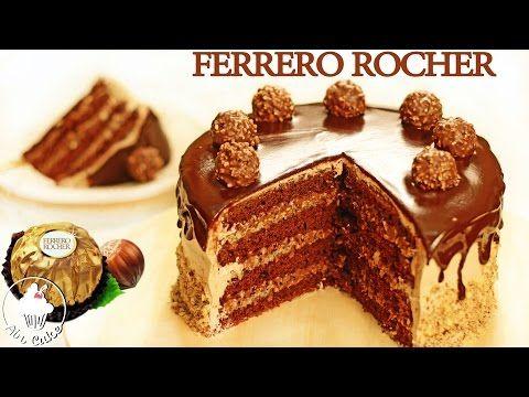 Фантастический FERRERO ROCHER ТОРТ| Как приготовить торт Ферреро Роше - YouTube