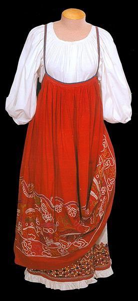 Русский народный костюм олонецкая губерния