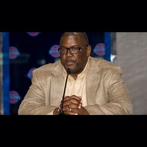 """UPDATE: The #Pistons announced today that Joe Dumars will step aside as President of Basketball Operations, effective immediately.  Dumars will continue his relationship with the franchise as an advisor to the organization and its ownership team. """"Joe Dumars is a great champion who has meant so much to this franchise and this community,"""" said Pistons owner Tom Gores. """"It's time to turn the page on a wonderful chapter and begin writing a new one."""" - Joe Dumars :: http://ift.tt/1eFlRlm"""