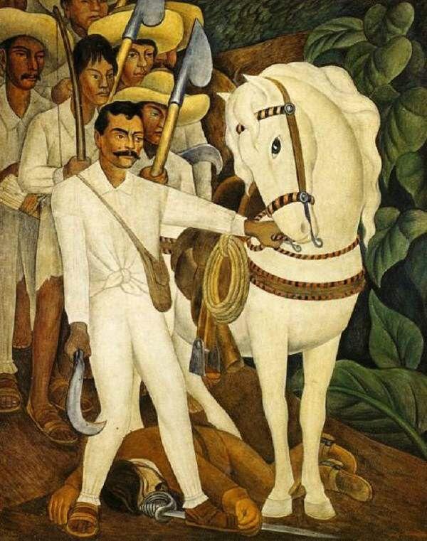 Diego Rivera | Agrarian Leader Zapata | M.Borrus