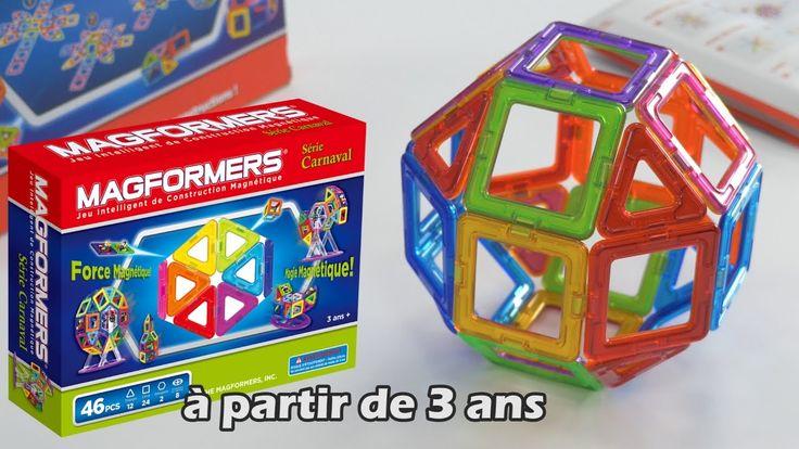Magformers - Démo du jeu de construction magnétique 3D