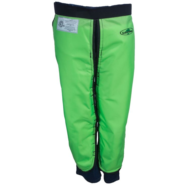Arborwear Safety Green 820100 SGN Men's Apron Style Chainsaw Chaps