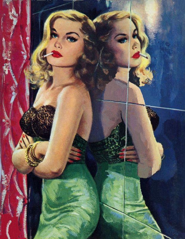 Vintage Pulp Art Illustration | Female-Centric Pulp Art | Sugary.Sweet | #Pulp #Art #Illustration