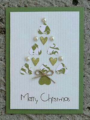 Juletræ af hjerter
