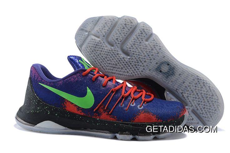 http://www.getadidas.com/nike-kd-8-elite-green-black-red-blue-shoes-topdeals.html NIKE KD 8 ELITE GREEN BLACK RED BLUE SHOES TOPDEALS Only $87.56 , Free Shipping!