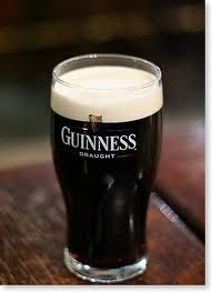 Guiness - would love to have one or two soon with my friends in UK