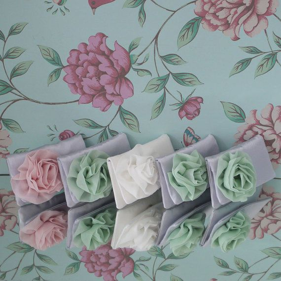 Bridesmaid clutches and gifts custom made in by EmmaGordonLondon, $40.00