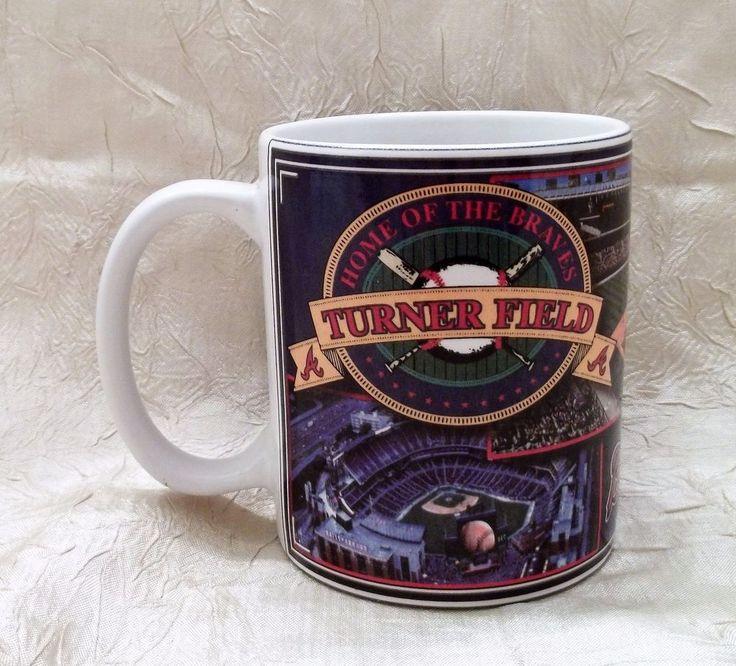 Turner Field Home Of The Atlanta Braves Until 2016 Coffee Mug Photo Cup MLB #AtlantaBraves