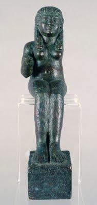 Astarté - tesoro del carambolo Museo Arquelogico de Cadiz