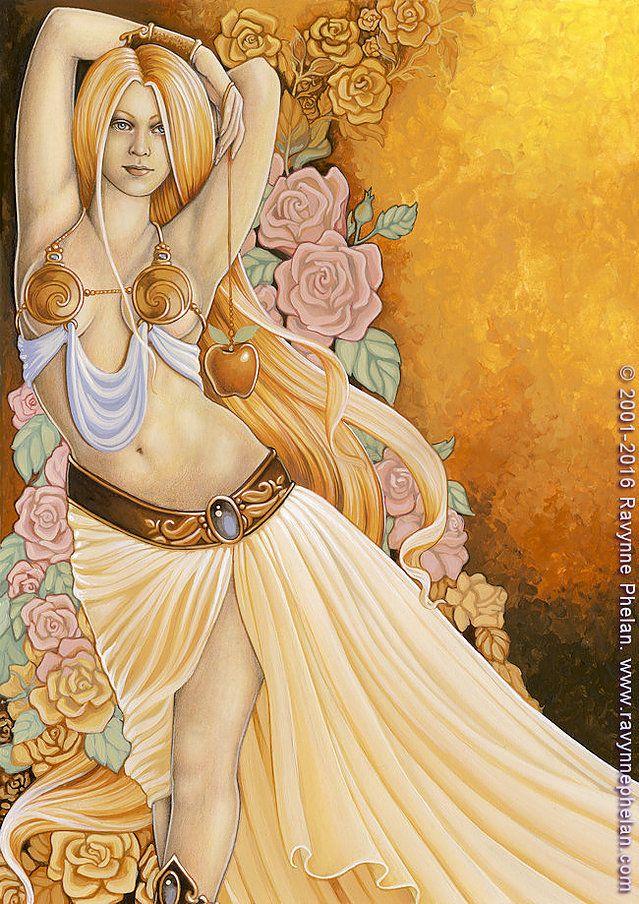 aphrodite goddess symbol - 639×904