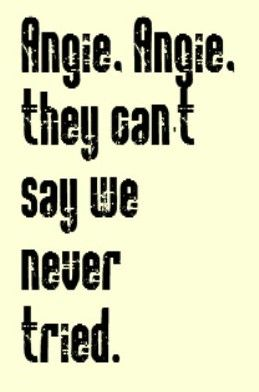 Rolling Stones - Angie - song lyrics, songs, music lyrics, song quotes, music quotes