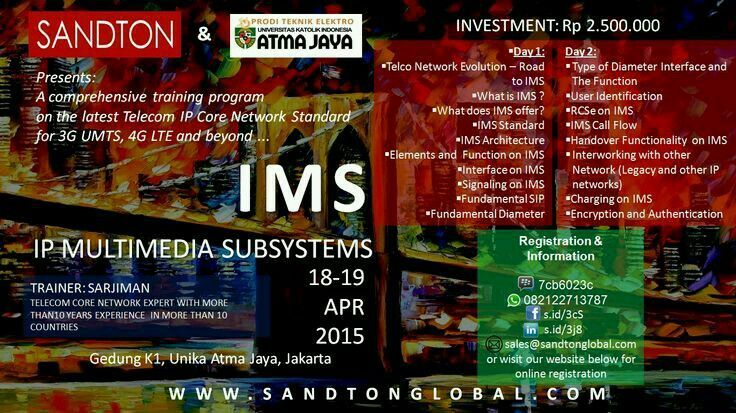 Training Program IP Multimedia Subsystems