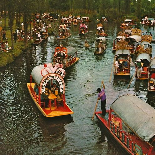 Xochimilco... been here many times!!! Love Mexico's culture.