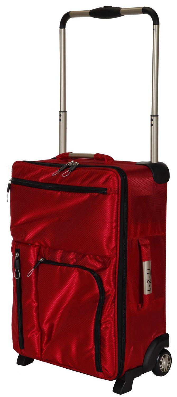 World's lightest suitcase