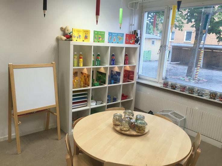 Pedagogisk miljö i förskolan. Skapande