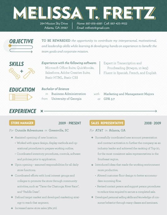 15 best BAd Resume images on Pinterest Resume examples, Resume - Different Resume Templates