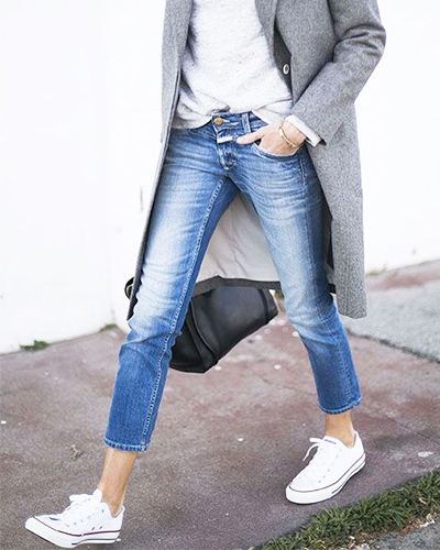 In honour of Jeans for Genes Day, we've rounded up some style tips and tricks to make jeans with sneakers totally work, whatever your body…