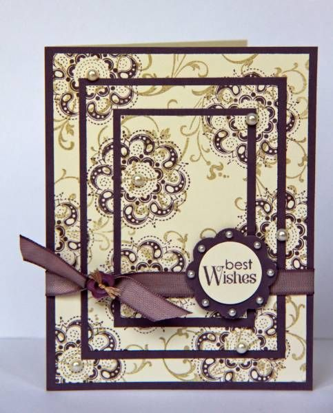 Lacy and Lovely Anniversary by ladybugdesigns - Cards and Paper Crafts at Splitcoaststampers