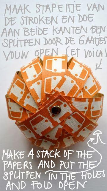 Leuk deze ballen, afhankelijk van het papier voor veel seizoenen/gelegenheden te gebruiken.