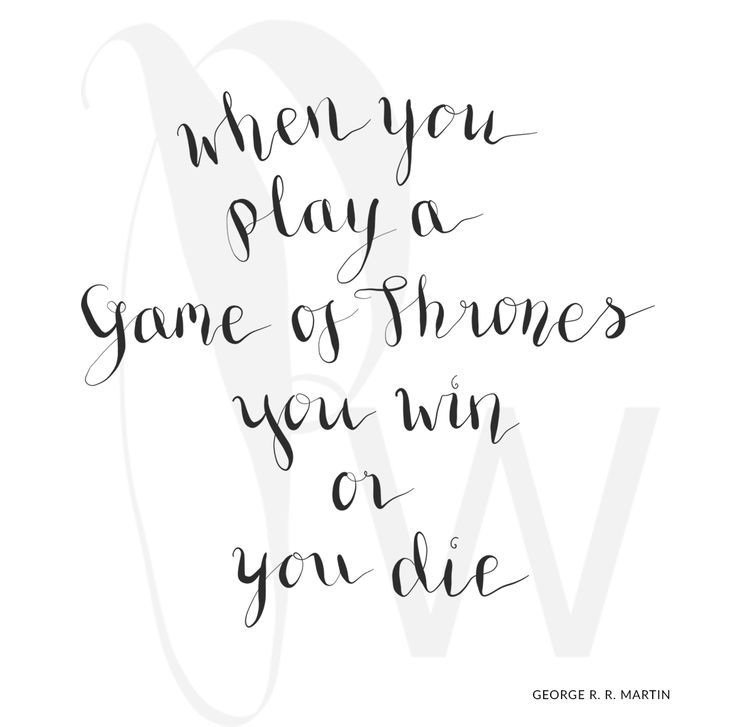 When you play…
