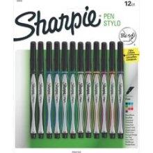 Sanford Sharpie Pen Stylo Fine 12/Pkg 131286