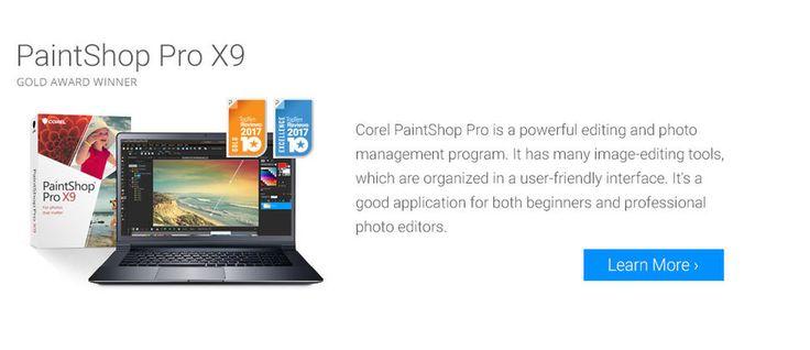 Top Ten Photo editing software Programs