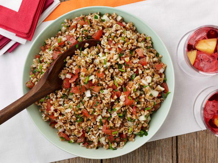 Farro Salad with Tomatoes and Herbs Recipe : Giada De Laurentiis : Food Network - FoodNetwork.com