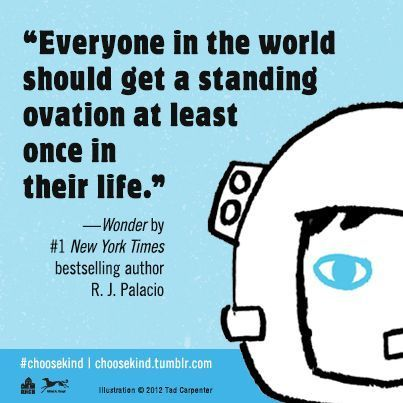 wonder palacio | Wonder by R.J. Palacio | Wise Words