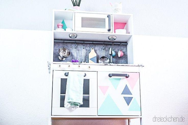 1000 images about ikea duktig kinderk che hack pimpen makeover on pinterest ikea play. Black Bedroom Furniture Sets. Home Design Ideas
