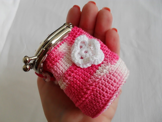 Crochet Mini Purse : Crochet Mini Purse Maparim Presentes de Natal/Christmas Presents ...