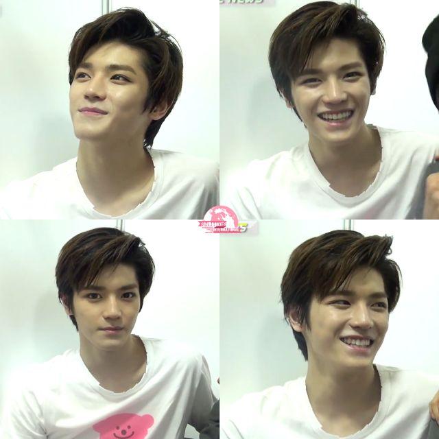 Taeyong #SMROOKIES -- now , NCT U || Cute smilee <3 my heart