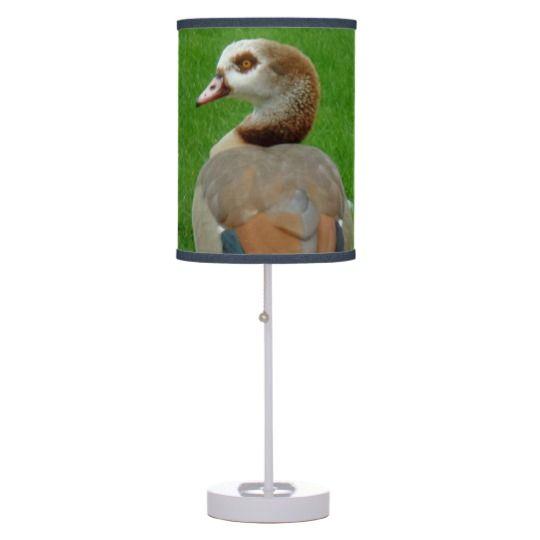 #zazzle #home #office #night #light #gift #giftidea #Nice #Bird #Table #Lamp
